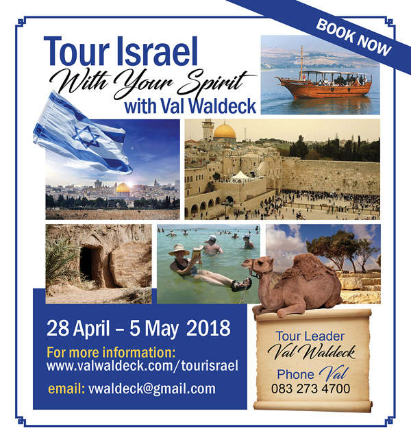 Tour Israel With Your Spirit