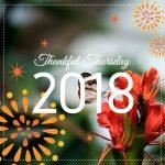 Thankful Thursday: Week 8