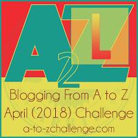 A-Z Challenge 2018 | ValWaldeck.com