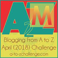 A-Z Challenge 2018 | Val Waldeck.com