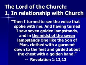 Relationship;ip with the Church