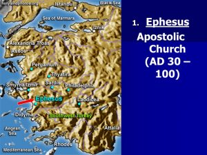 The Ephesian Church