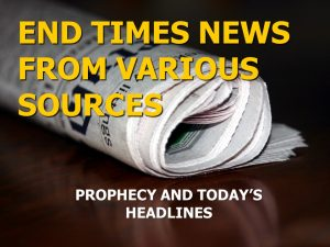 End Time News